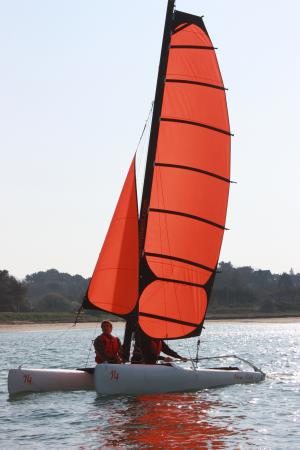 Catamaran am CFA Guidel